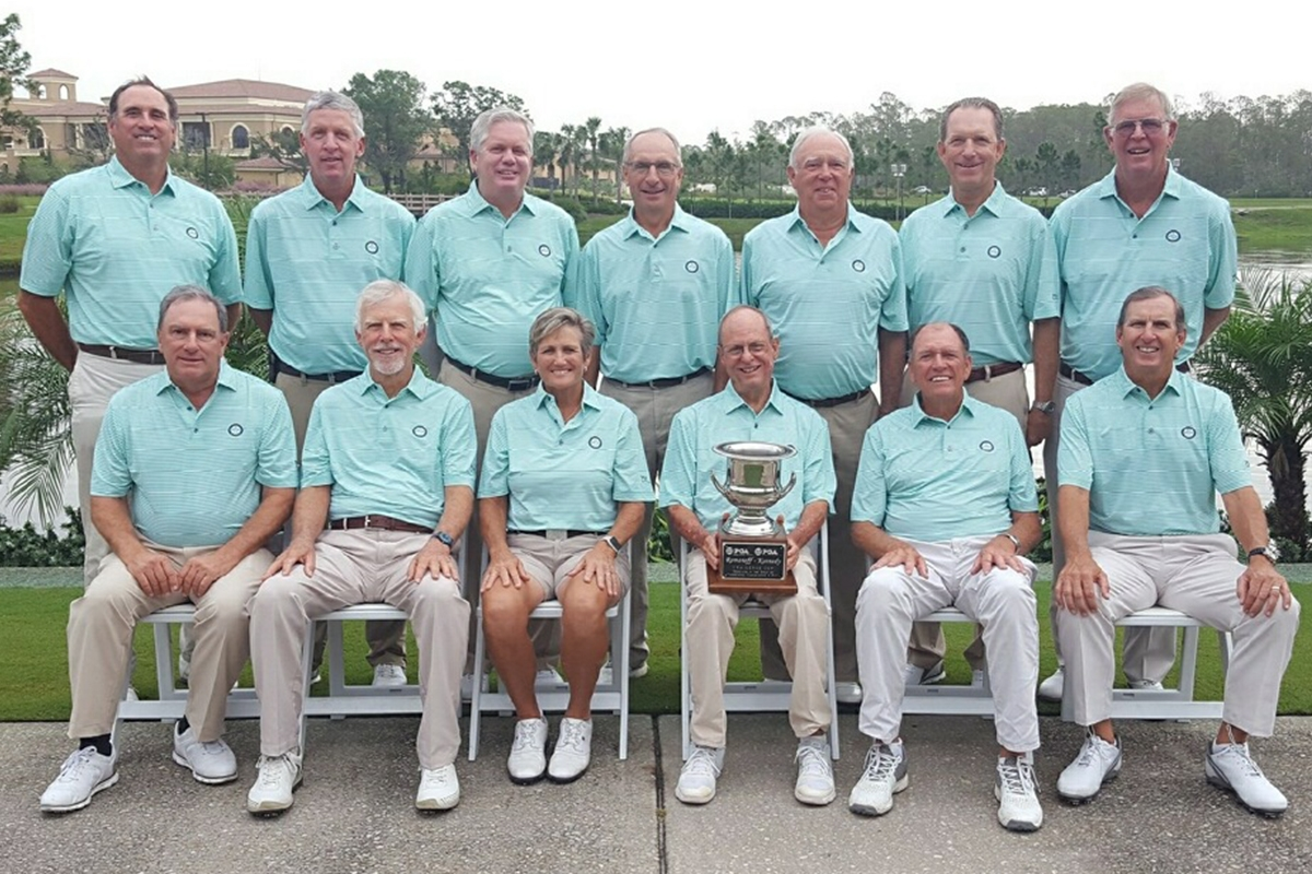 Senior Challenge Cup Team Brings Home the Cup