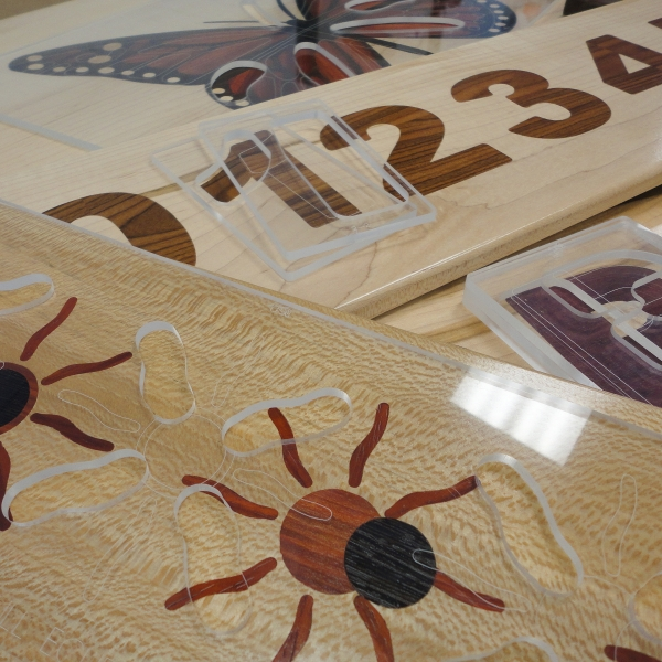 Multiple Layer Inlay Stencils
