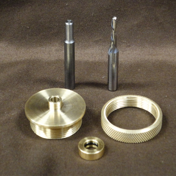 "1/8"" Solid Brass Router Inlay Kit"