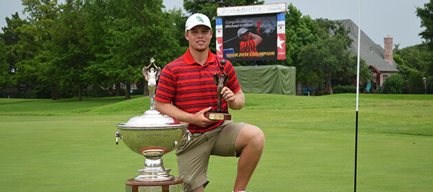 Michael Cotton Wins Texas Amateur with Torrid Back-Nine 29