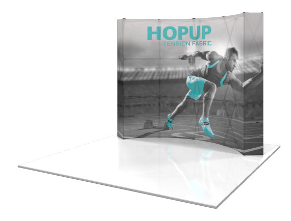 HopUp 10ft Displays