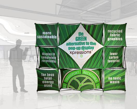 Xpressions Green Display