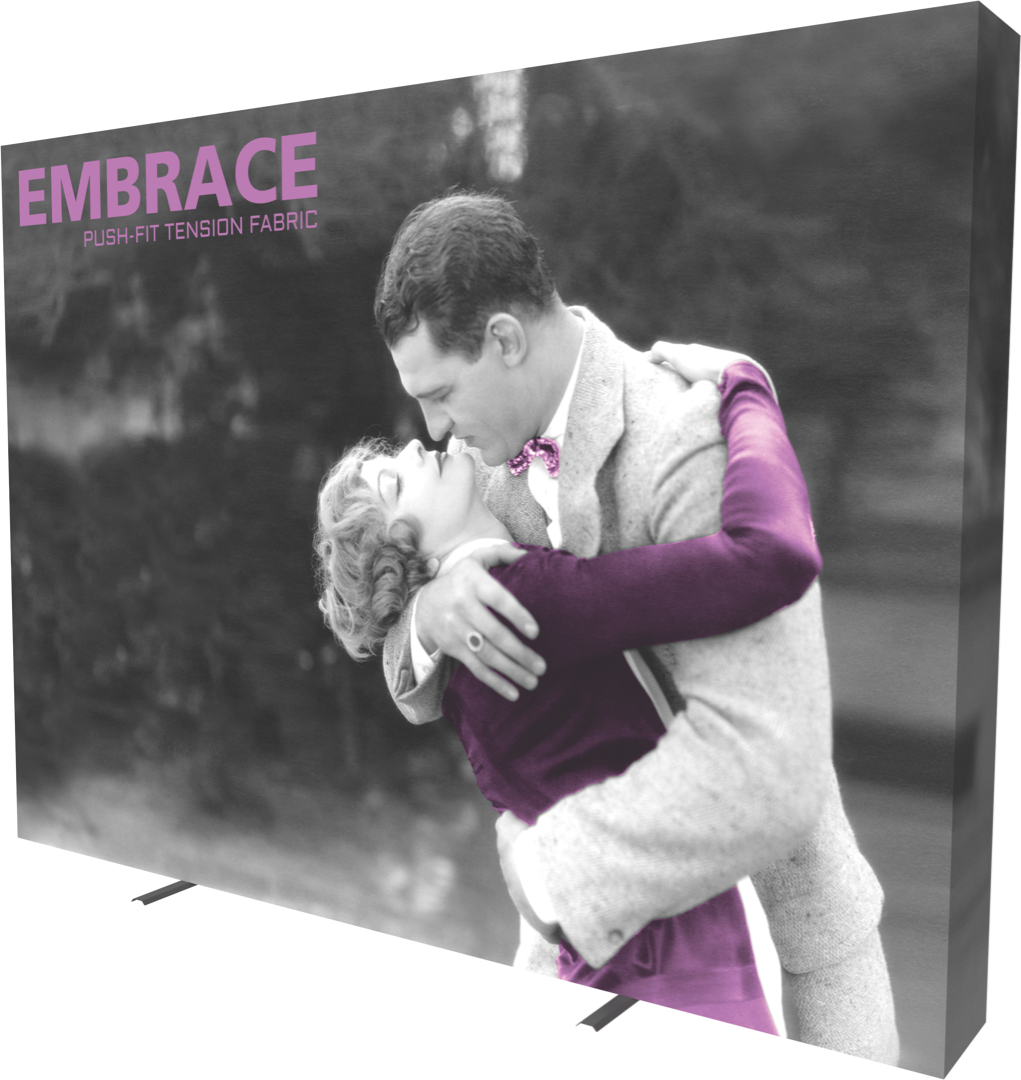 Embrace Push-Fit Tension Fabric Display