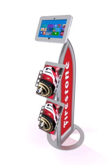 MOD-1357M Surface Stand with graphics