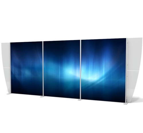 Exhibitline 10 x 20 Backlit XVline Display 03