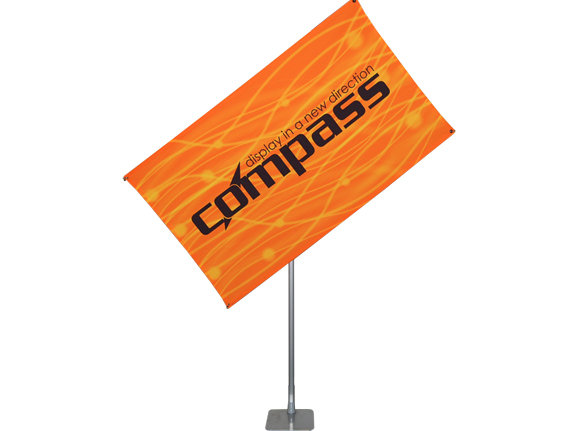 "Compass 40"" x 75"" Banner Stand"