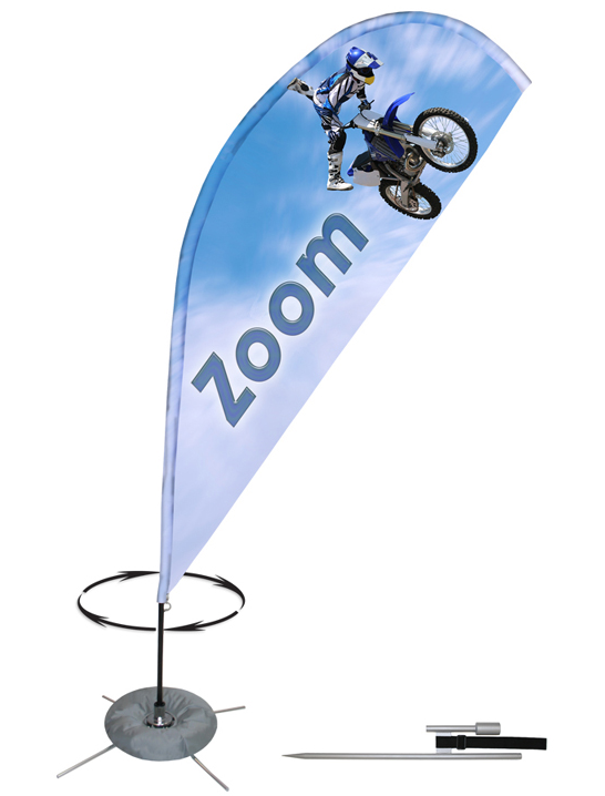 Zoom Spinning Banner-single sided