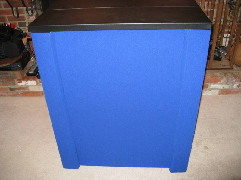 Nomadic Case to counter conversion kit-Imperial Blue Fabric