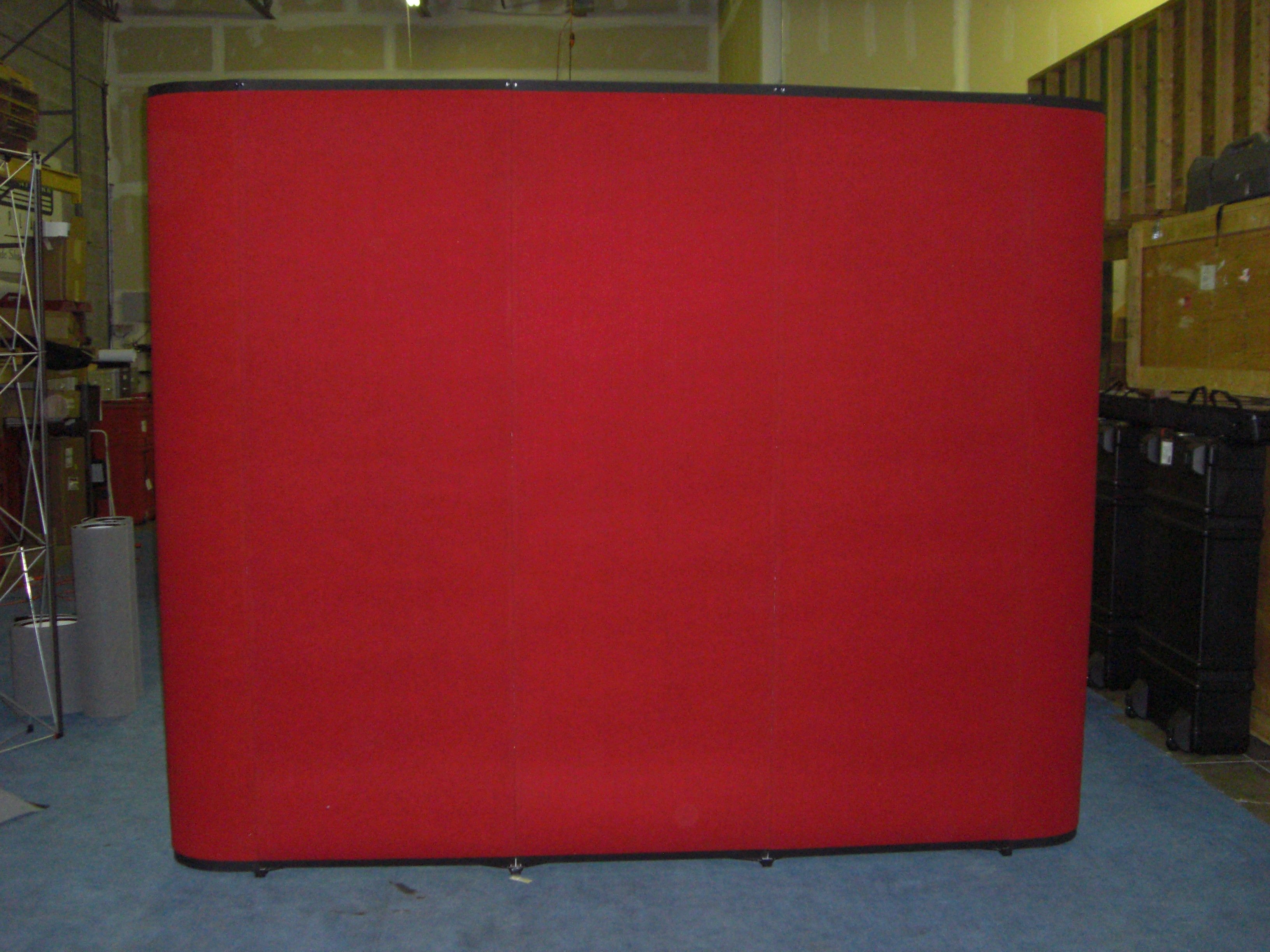 Nomadic 8x8 Flat Frame w/Red Fabric