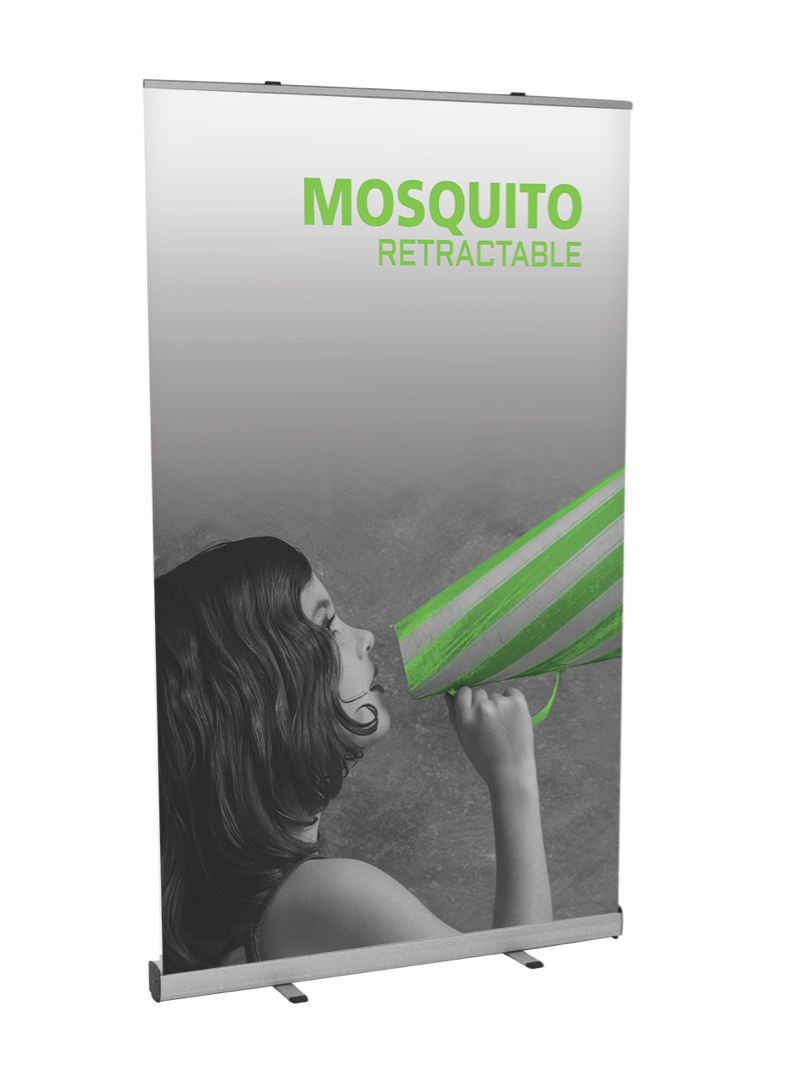 Mosquito 1200 banner stand