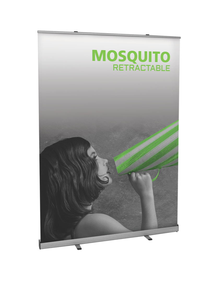 Mosquito 1500 budget banner stand