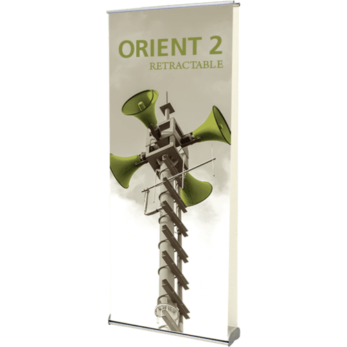 ORIENT 920 DOUBLE RETRACTABLE BANNER STAND