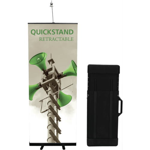 QUICKSTAND RETRACTABLE BANNER STAND KIT