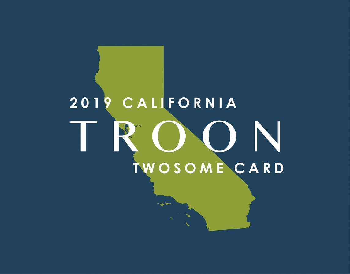 2019 CA TwoSome Card