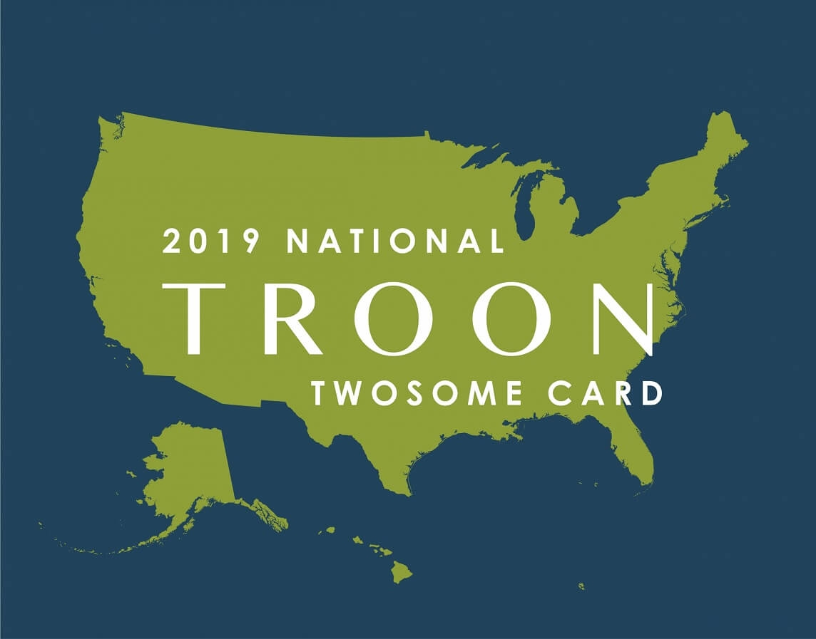 2019 National TwoSome Card
