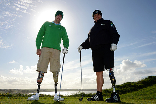Severly Injured Combat Veterans Golfing (2)