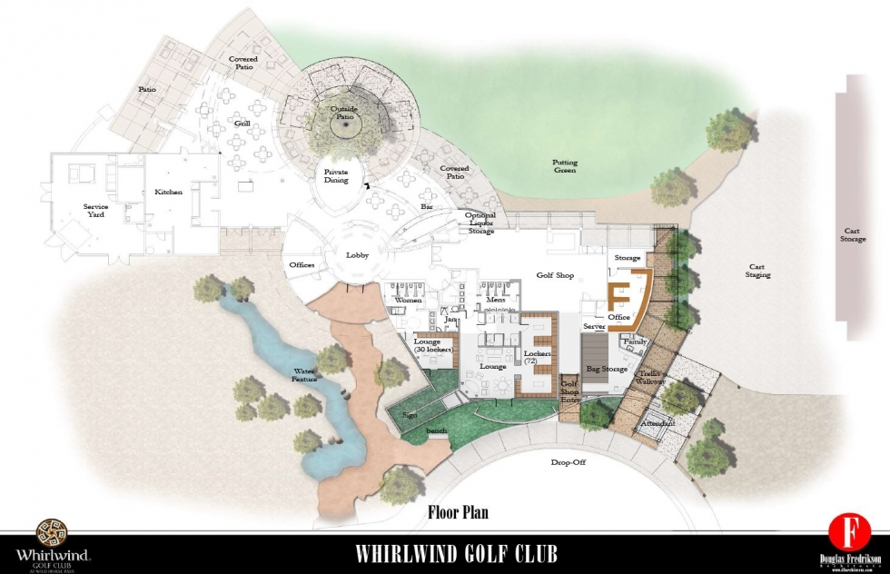Whirlwind Golf Club At Wild Horse Pass Begins Clubhouse