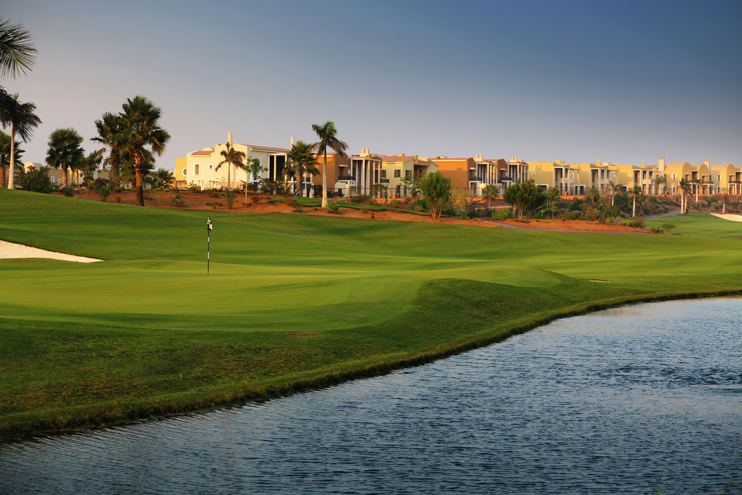 The Allegria Golf Course Community In Cairo Egypt