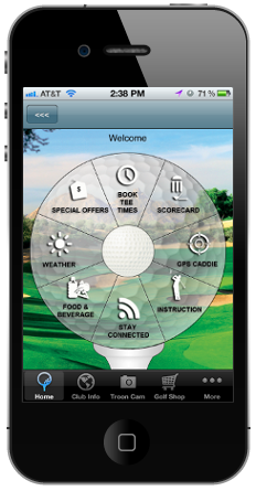 Troon App Wheel