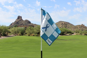 Prostate Cancer Awareness Flag