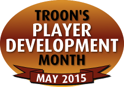 Troon's Player Development Month - May 2015