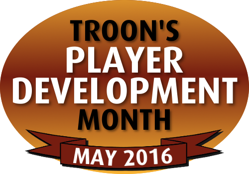 Troon's Player Development Month - May 2016