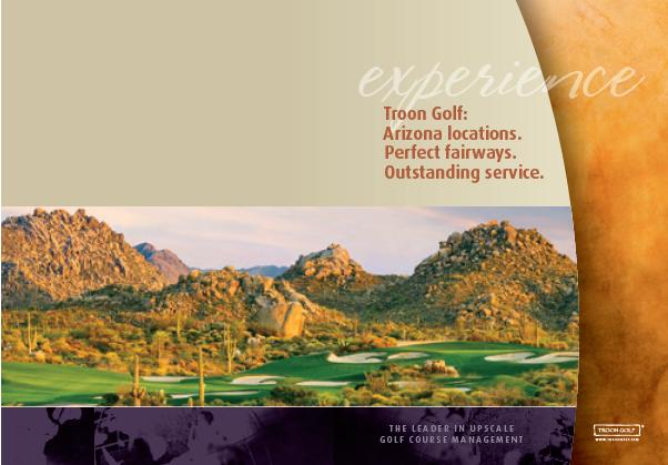 Troon Golf Passbook