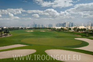 The Montgomerie Dubai Golf Course