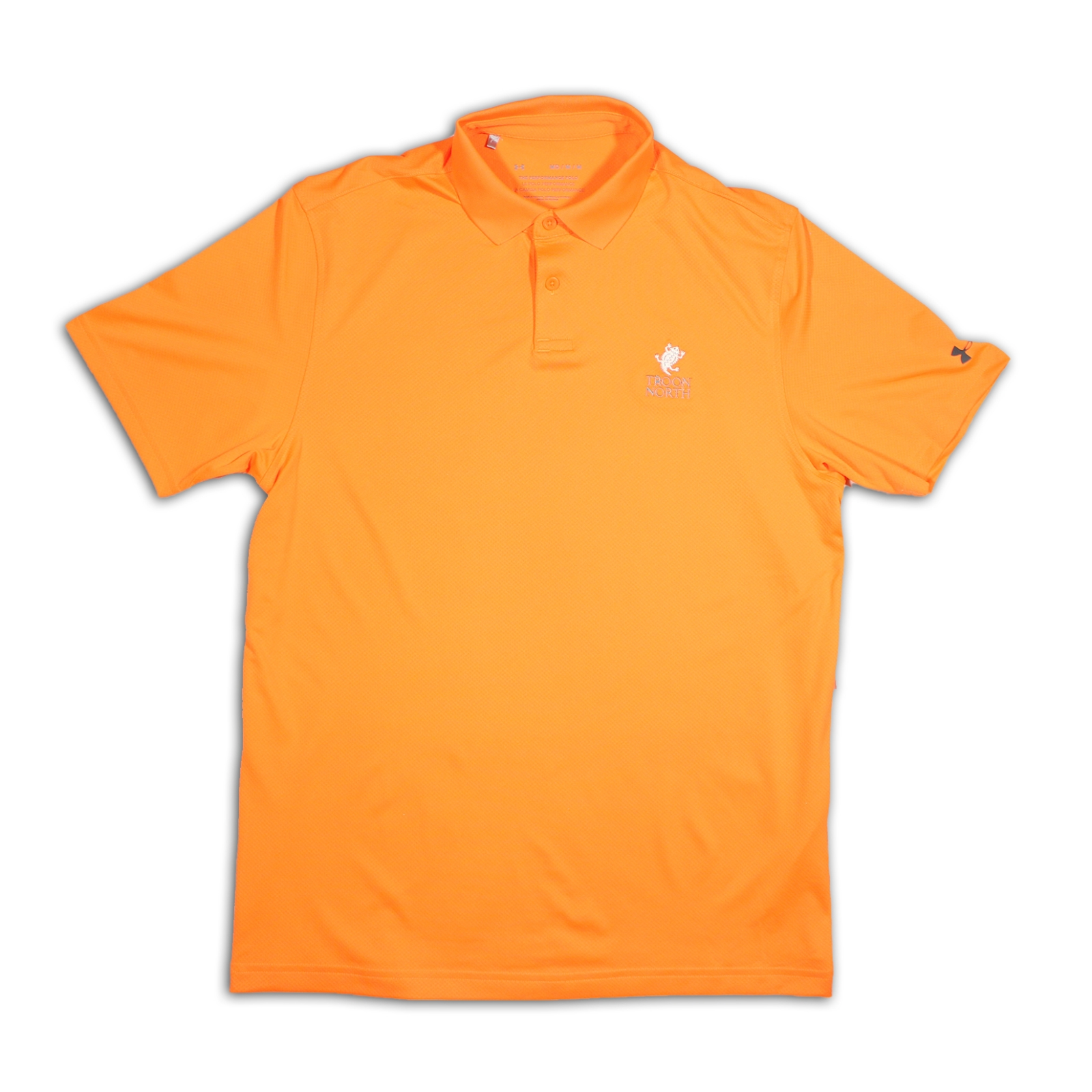 Under Armour Solid Orange Polo