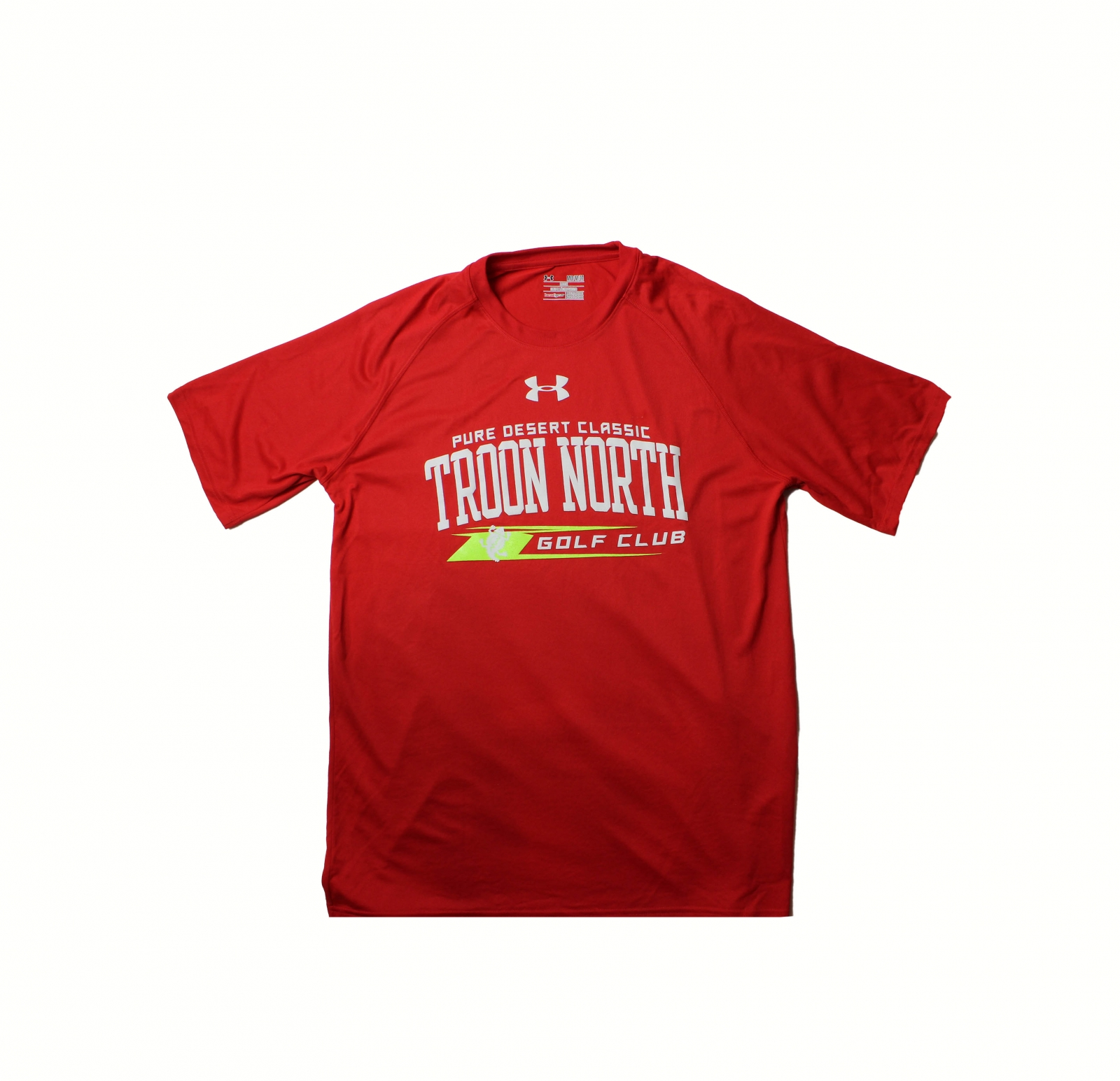 Troon North Under Armour Mens Tech Tee