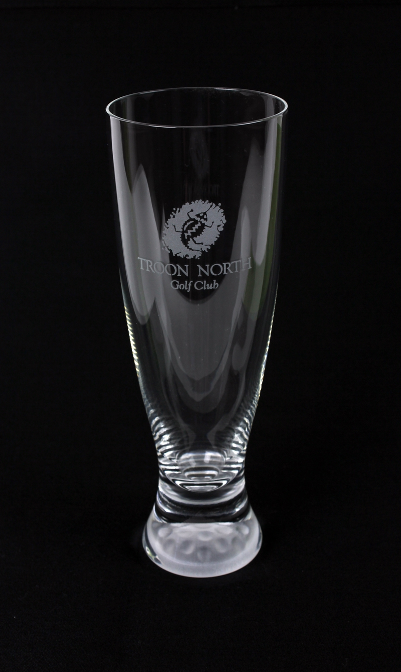 Sterling Cut Glass Pilsner