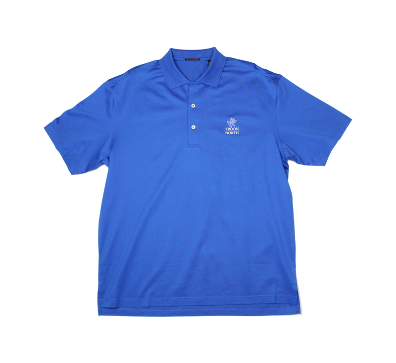 Troon North Cotton Solid Lisle Polo