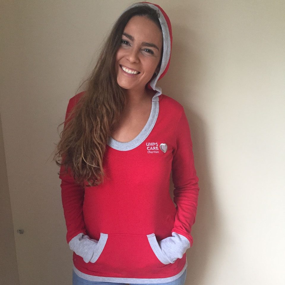 UMPS CARE Antigua Vibe Pullover - Red - Size L