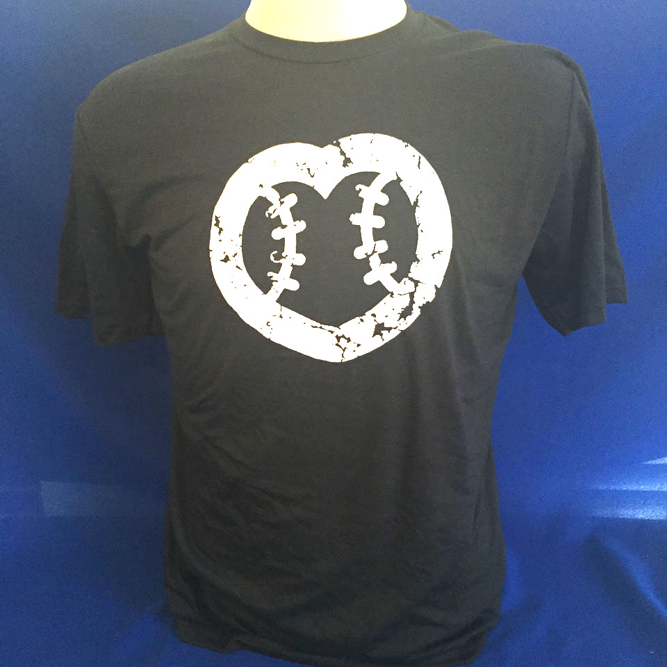 UMPS CARE Heart Shirt - Black - Size S