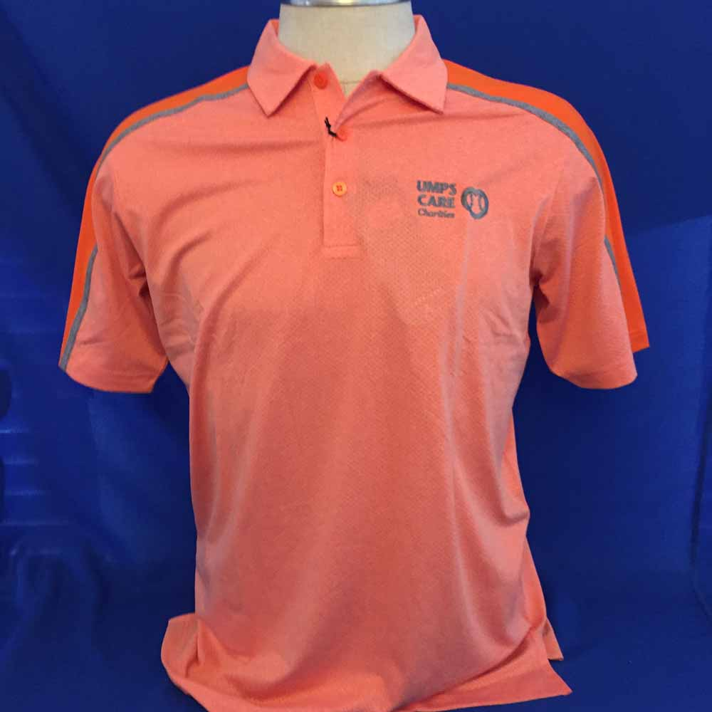 UMPS CARE Antigua Sustain Polo - Orange - Size L