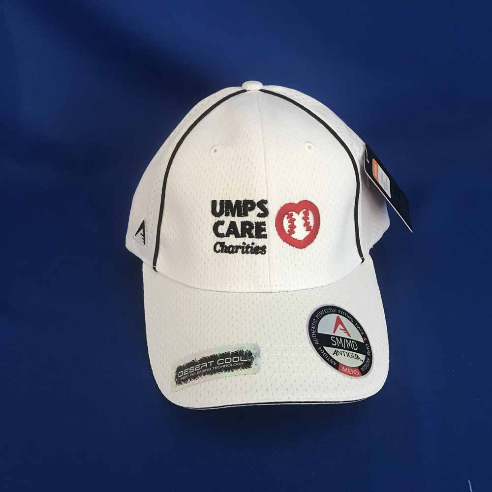 UMPS CARE White Antigua Hat - White - Size M/L