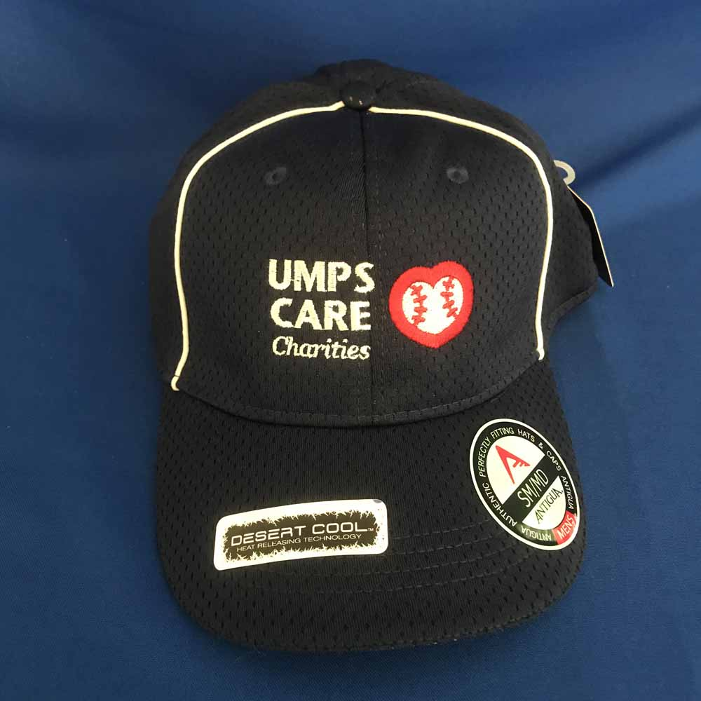 UMPS CARE White Antigua Hat - Navy - Size M/L