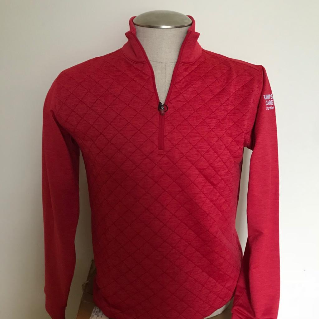 UMPS CARE Antigua Arctic Pullover-Red-Size L