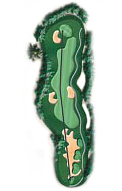 Hole 10 - <i>Par 4 &#9830; 440 yards</i>