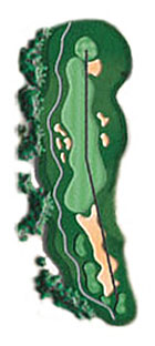 Hole 6 - <i>Par 4 &#9830; 382 yards</i>