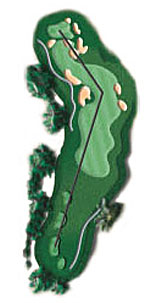 Hole 8 - <i>Par 4 &#9830; 380 yards</i>