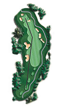 Hole 12 - <i>Par 4 &#9830; 371 yards</i>