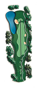 Hole 13 - <i>Par 4 &#9830; 405 yards</i>