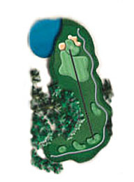 Hole 14 - <i>Par 3 &#9830; 225 yards</i>