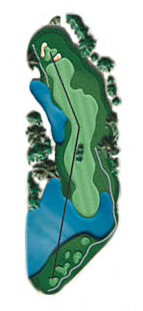 Hole 15 - <i>Par 5 &#9830; 523 yards</i>