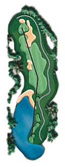 Hole 16 - <i>Par 4 &#9830; 437 yards</i>