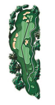 Hole 17 - <i>Par 4 &#9830; 365 yards</i>