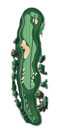 Hole 18 - <i>Par 5 &#9830; 554 yards</i>