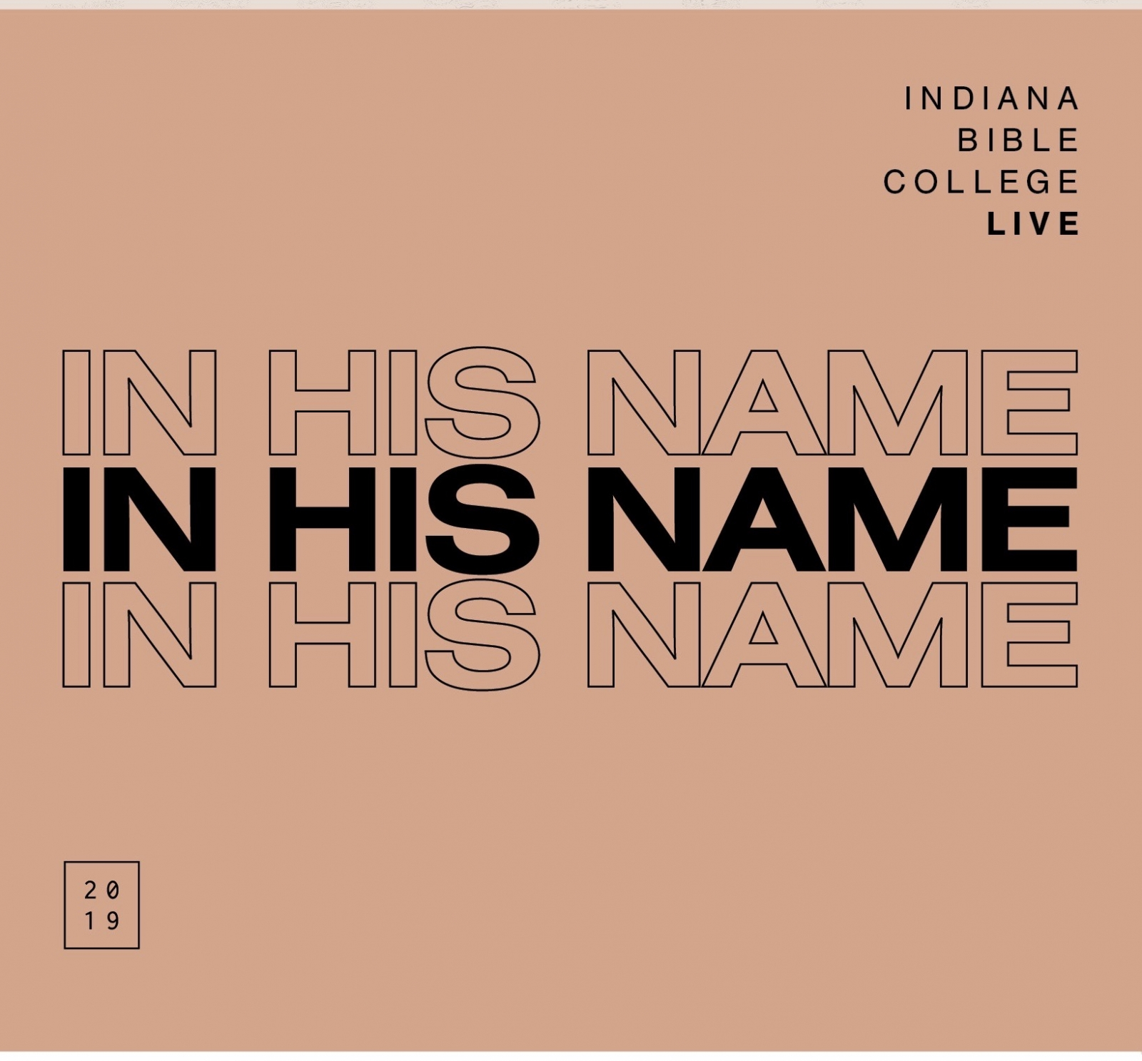 Chord Charts & Lyrics - In His Name (Sheet Music) - Digital Download