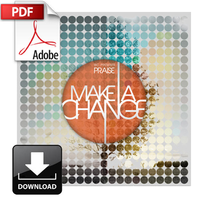 Make a Change (PDF chord chart download)